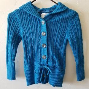 SALE! Aeropostale Blue Button up Sweater